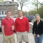 Scott O'Rourke, Jim Manning & Cindy Tzgournis